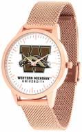 Western Michigan Broncos Rose Mesh Statement Watch