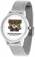 Western Michigan Broncos Silver Mesh Statement Watch