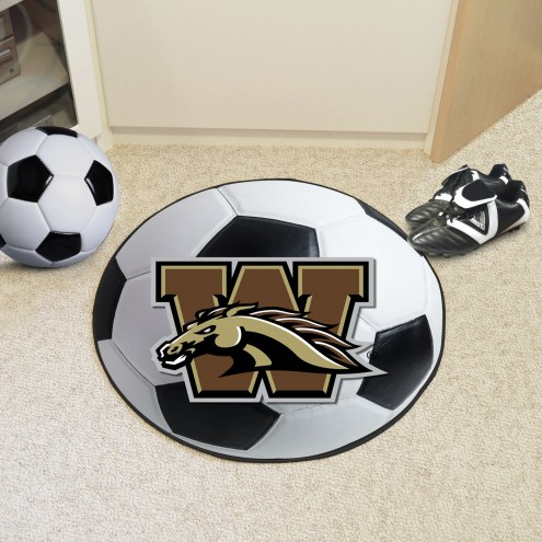 Western Michigan Broncos Soccer Ball Mat