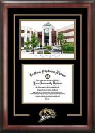 Western Michigan Broncos Spirit Diploma Frame with Campus Image