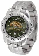 Western Michigan Broncos Sport Steel AnoChrome Men's Watch