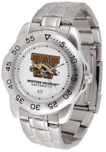 Western Michigan Broncos Sport Steel Men's Watch