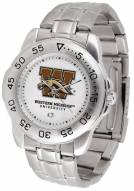Western Michigan Broncos Sport Steel Men's Watch