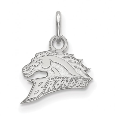 Western Michigan Broncos Sterling Silver Extra Small Pendant