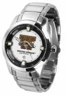 Western Michigan Broncos Titan Steel Men's Watch