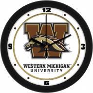 Western Michigan Broncos Traditional Wall Clock