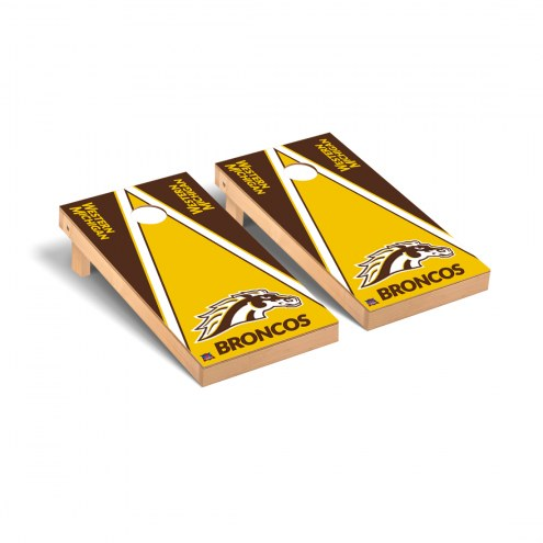 Western Michigan Broncos Triangle Cornhole Game Set