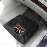 Western Michigan Broncos Vinyl 2-Piece Car Floor Mats