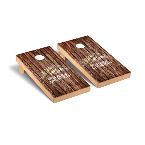 Western Michigan Broncos Weathered Cornhole Game Set