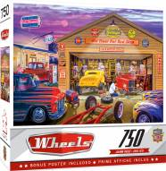 Wheels Old Timer's Hot Rods 750 Piece Puzzle