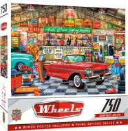 Wheels The Auctioneer 750 Piece Puzzle