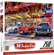 Wheels Triple Threat 750 Piece Puzzle