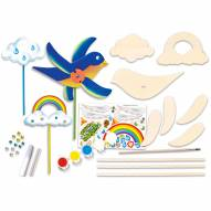 Whirlygig Buildable Wood Paint Kit
