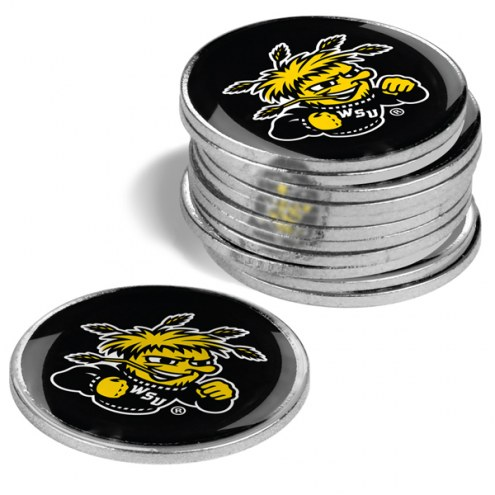 Wichita State Shockers 12-Pack Golf Ball Markers
