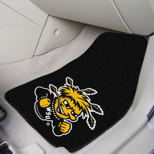 Wichita State Shockers 2-Piece Carpet Car Mats