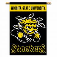 "Wichita State Shockers 28"" x 40"" Two-Sided Banner"