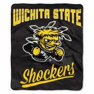 Wichita State Shockers Alumni Raschel Throw Blanket