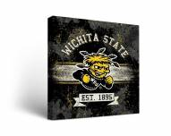 Wichita State Shockers Banner Canvas Wall Art