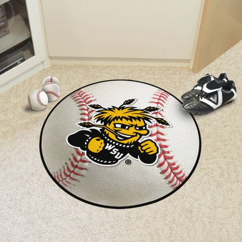Wichita State Shockers Baseball Rug