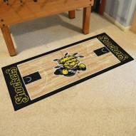 Wichita State Shockers Basketball Court Runner Rug