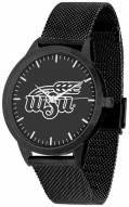Wichita State Shockers Black Dial Mesh Statement Watch