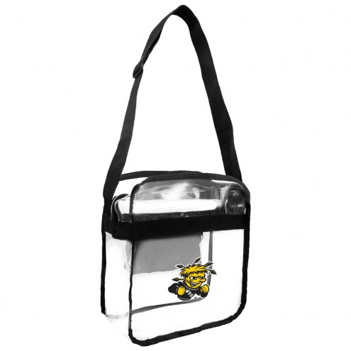 Wichita State Shockers Clear Crossbody Carry-All Bag