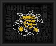 Wichita State Shockers College Word Cloud