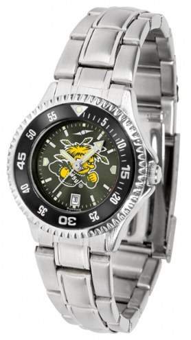 Wichita State Shockers Competitor Steel AnoChrome Women's Watch - Color Bezel