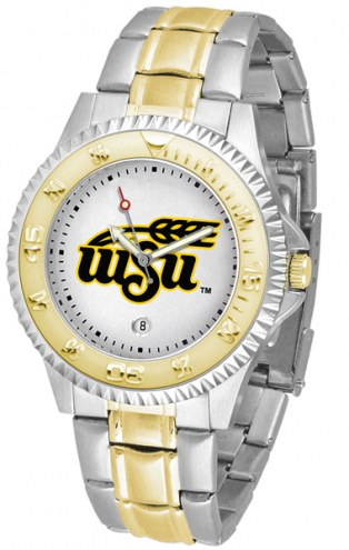 Wichita State Shockers Competitor Two-Tone Men's Watch