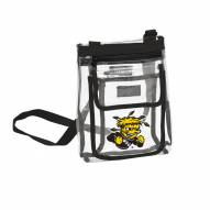 Wichita State Shockers Gameday Clear Crossbody Tote