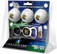 Wichita State Shockers Golf Ball Gift Pack with Key Chain