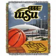 Wichita State Shockers Home Field Advantage Throw Blanket