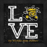 Wichita State Shockers Love My Team Color Wall Decor