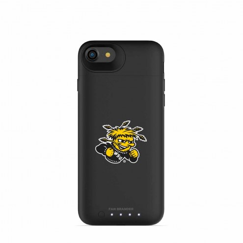 Wichita State Shockers mophie iPhone 8/7 Juice Pack Air Black Case