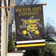 Wichita State Shockers NCAA Applique 2-Sided Banner Flag