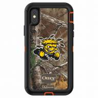Wichita State Shockers OtterBox iPhone X Defender Realtree Camo Case
