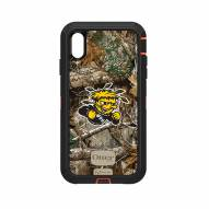 Wichita State Shockers OtterBox iPhone XS Max Defender Realtree Camo Case