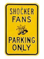 Wichita State Shockers Parking Sign