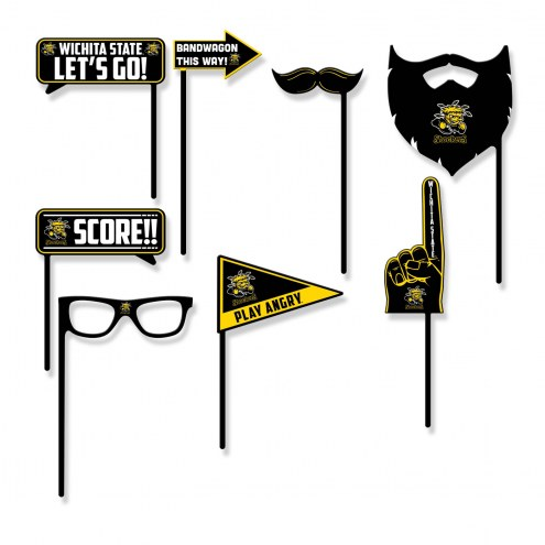 Wichita State Shockers Party Props Selfie Kit