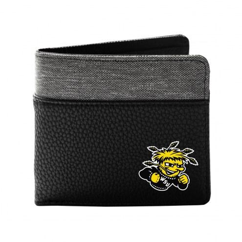 Wichita State Shockers Pebble Bi-Fold Wallet