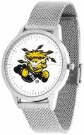 Wichita State Shockers Silver Mesh Statement Watch