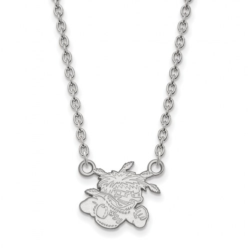 Wichita State Shockers Sterling Silver Small Pendant Necklace
