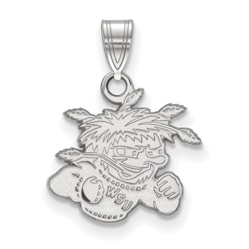 Wichita State Shockers Sterling Silver Small Pendant