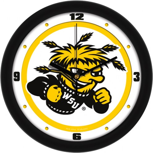 Wichita State Shockers Traditional Wall Clock