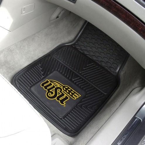 Wichita State Shockers Vinyl 2-Piece Car Floor Mats