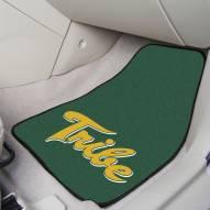 William & Mary Tribe 2-Piece Carpet Car Mats