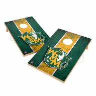 William & Mary Tribe 2' x 3' Vintage Wood Cornhole Game