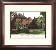 William & Mary Tribe Alumnus Framed Lithograph