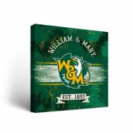 William & Mary Tribe Banner Canvas Wall Art