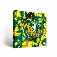 William & Mary Tribe Fight Song Canvas Wall Art